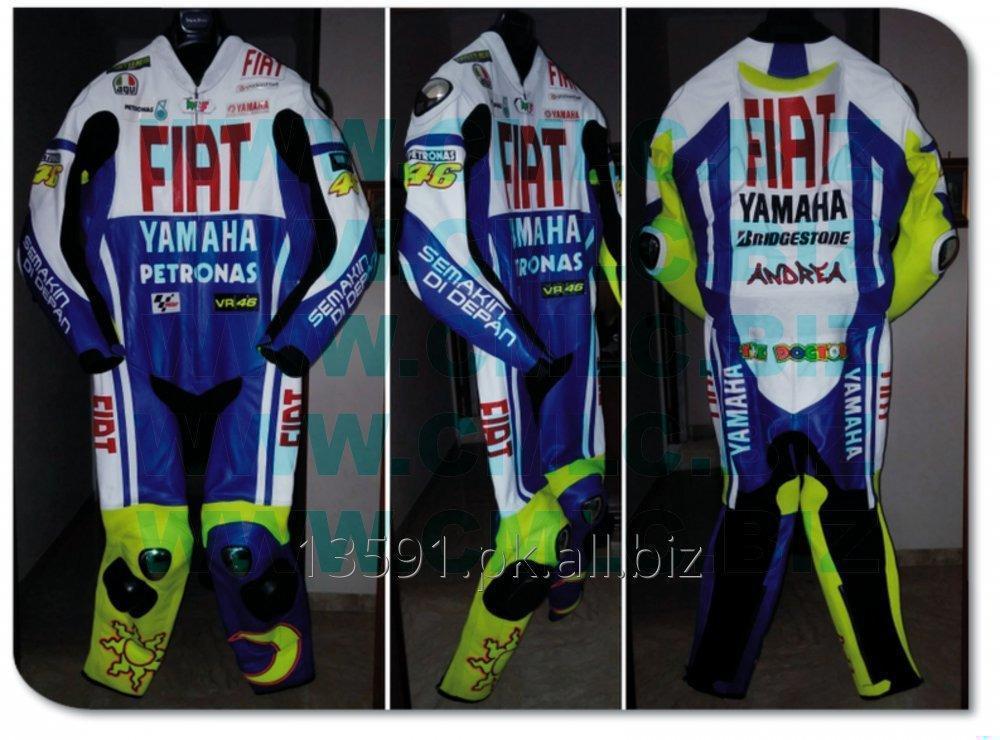 Buy YAMAHA FIAT MOTOR BIKE LEATHER SUIT