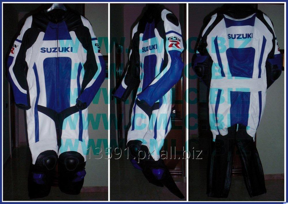 Buy SUZUKI MOTOR BIKE LEATHER SUIT