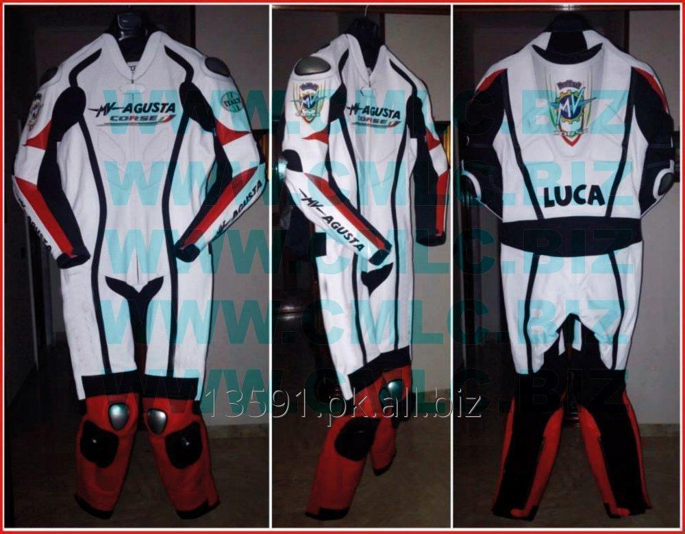 Buy MV AGUSTA MOTOR BIKE LEATHER SUIT