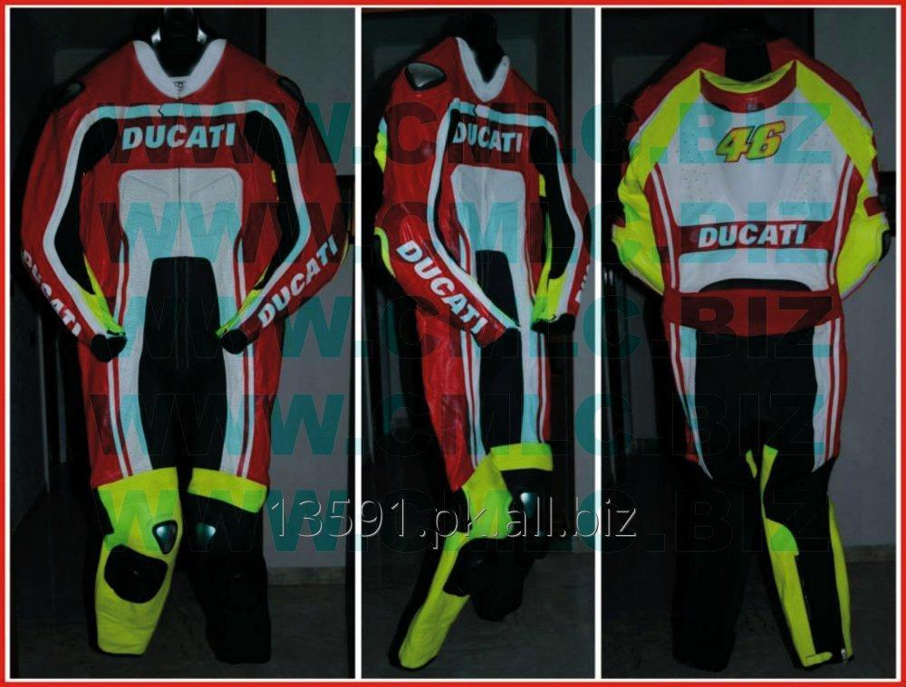 Buy DUCATI MOTOR BIKE LEATHER SUIT