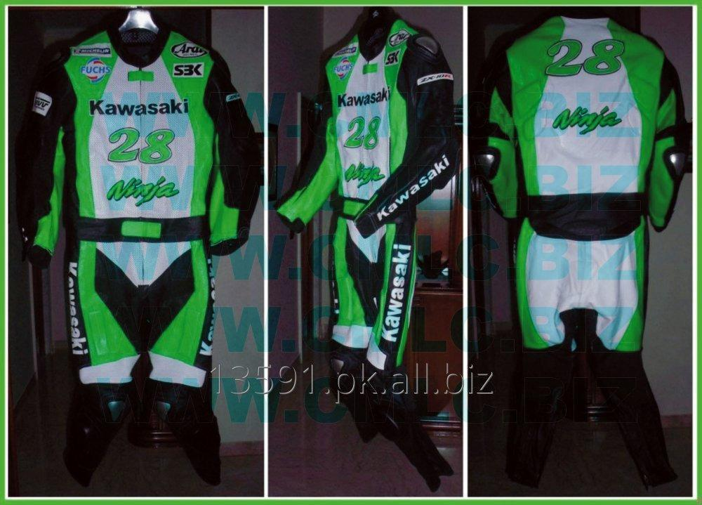 Buy KAWASAKI NINJA MOTOR BIKE LEATHER SUIT