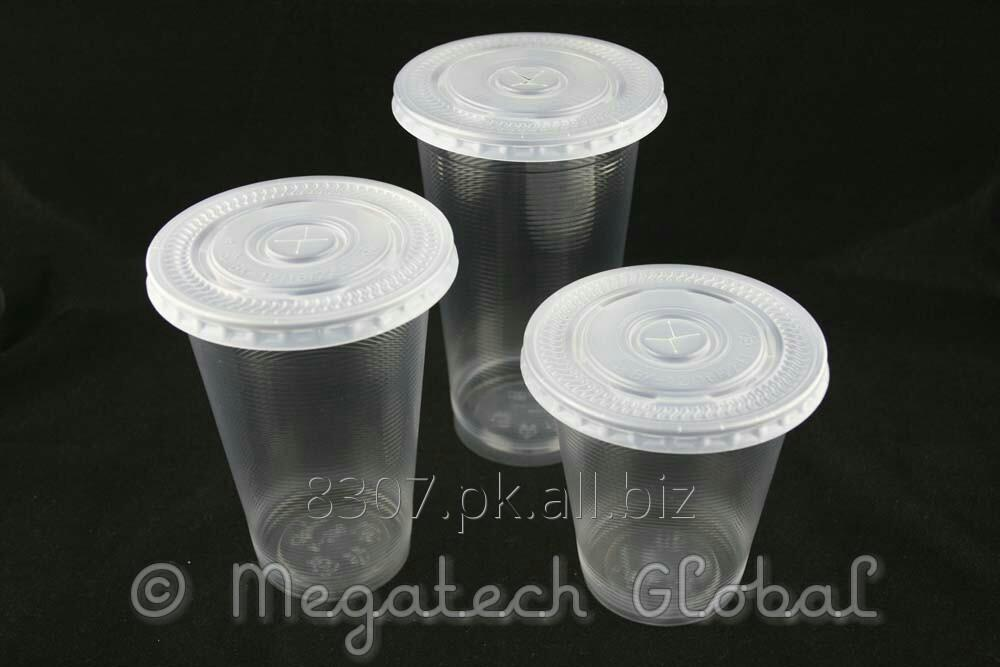 Buy Disposable PP Ring & Plain Cup w/Flat & Dome Lid