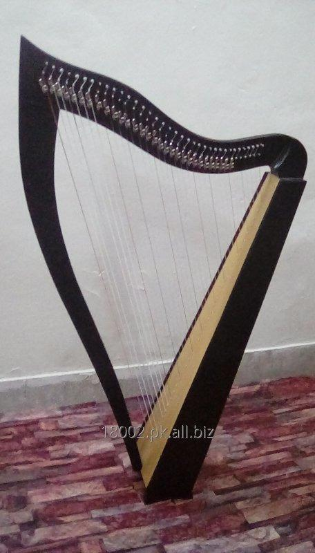 Buy Celtic Harp 36 Strings with brass levers with bag & Key.