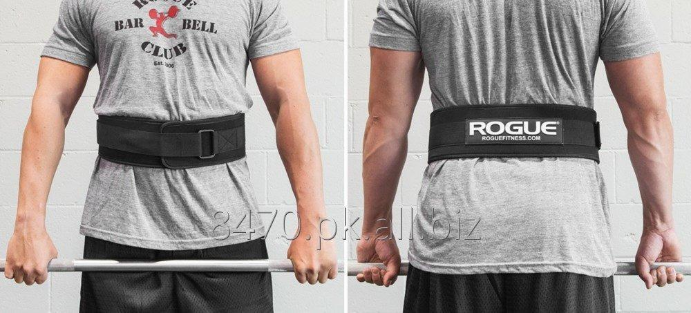 Weight lifting belt made of Neoprene material