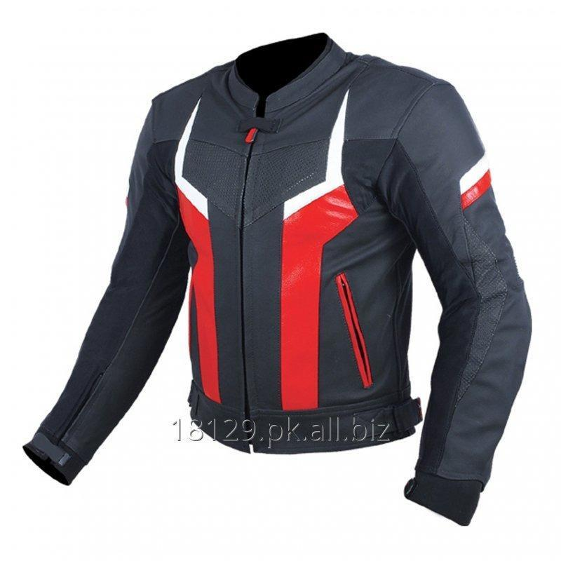 Buy MOTORCYCLE LEATHER JACKET