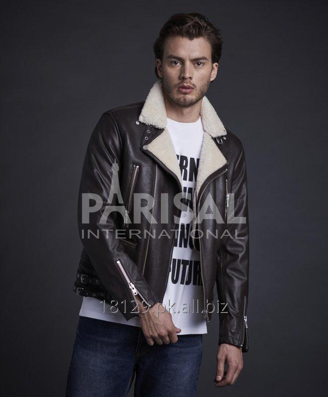 Buy LEATHER FASHION JACKET