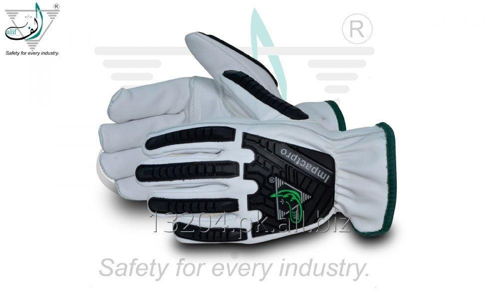 Buy Alif® Impactpro 1 Goatskin Kevlar®-Lined Anti-Impact Driver Gloves.