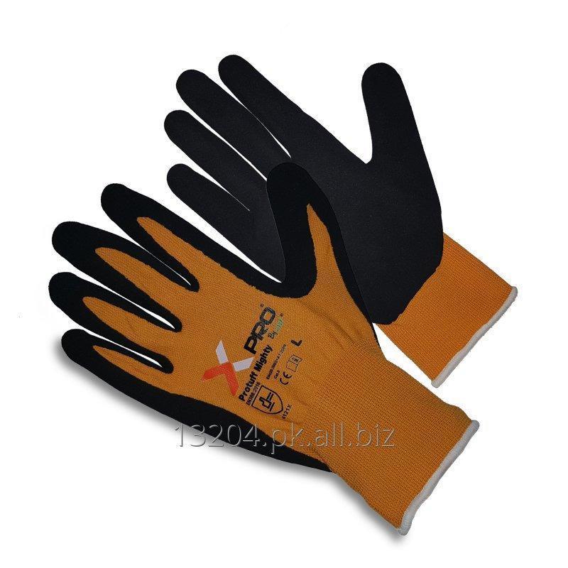 Buy Protuff Mighty by XPRO, Nylon Glove with Sandy Nitrile Palms.