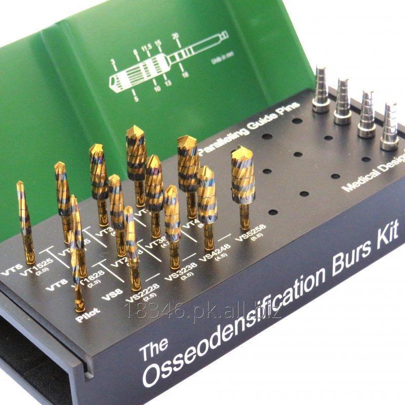 Buy Osseodensification Universal Burs Kit Gold Series