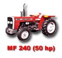 Massey Ferguson Tractor MF-240 50 HP
