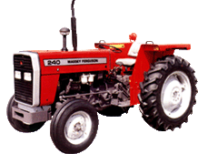 Tractor, MF 240 (40hp)