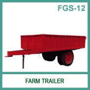 Farm trailer FGS 12