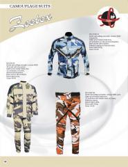 Camuflage Suits