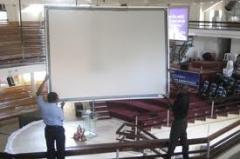 Mounted screens