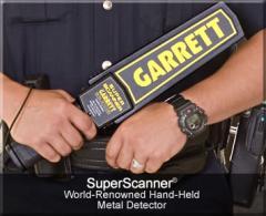 Hand held metal detectors