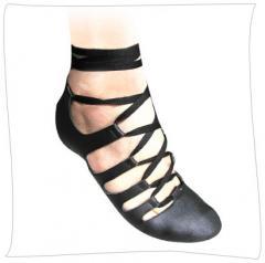 Woman artificial leather footwear