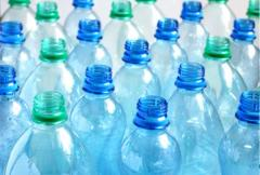 Bottles of plastic