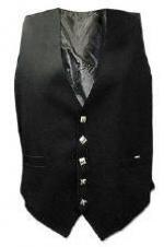 TTT-317. Argyle Waist Coats plain color dress