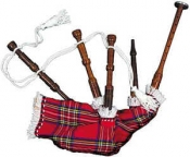 TTT-01. Toy or Kids Bagpipes Toy or Baby or Dummy
