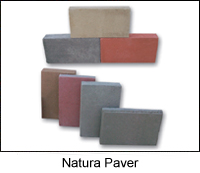 Natura Paver   Natura pavers are available in