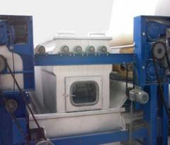 Open width washing machines