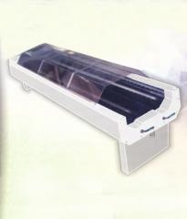 Single/double rotary screen washing machine