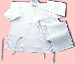 Karate uniforms 8-oz in 100 cotton
