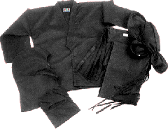 Ninja uniform 8-oz in 100 cotton