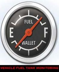 Vehicle fuel tank monitoring