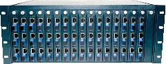 48 port ethernet optical fiber transceiver