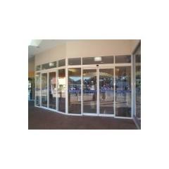 Glass framing doors