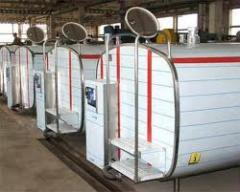 Equipment for cooling milk