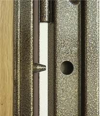 Metal door blocks