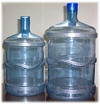 Bottles of non-ferrous metals