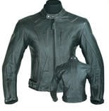 Black male leather Leather Jacket