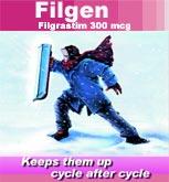 Anti-cancer medicines, Filgen