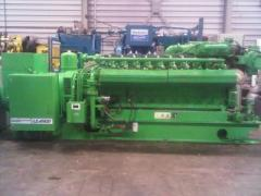 Jenbacher JS320 GSBO5 generator