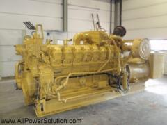 Caterpillar G3516. 1215 KVA generator