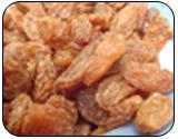 Dry black/green/golden sultana raisins