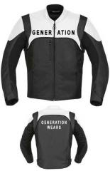 Black Motorcycle racing jacket