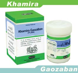 Brain tonic for mental depressive states, Khamira Gaozaban, Plain