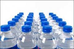 Bottles made of polyethylene