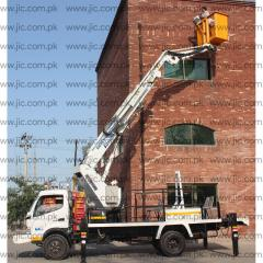 Aerial Platform with Telescopic Boom