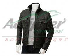 Black Male Leather Jacket