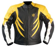 HME-101 Man leather Jacket