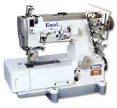 Interlock sewing machines