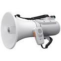 Shoulder megaphones