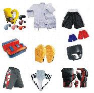 Boxing Gloves, Boxing Suits, Boxing Trousers,