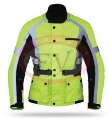 Yellow man textile jacket