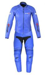 Heavy Blue Bike Suits